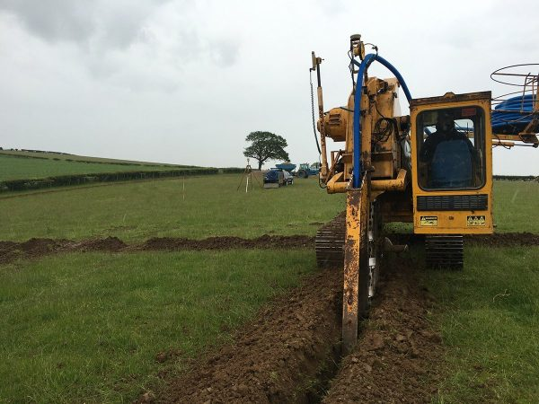 Land Drainage Machine