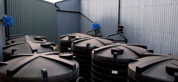 Plastic Rainwater Harvesting tanks