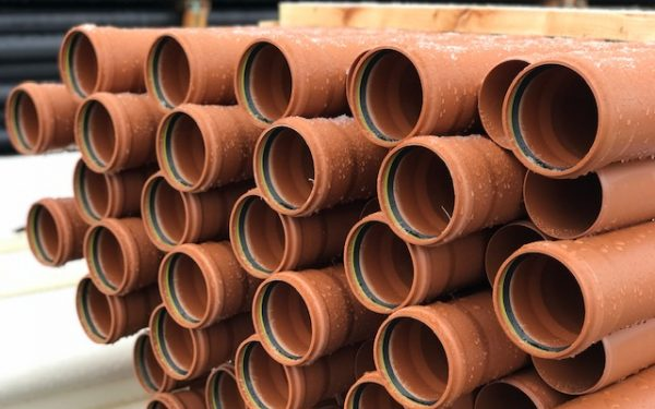 Underground Sewer Pipe and Fittings