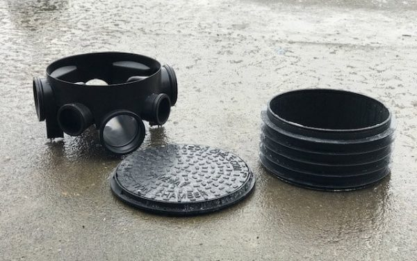 Manhole Bases, Risers and Lids